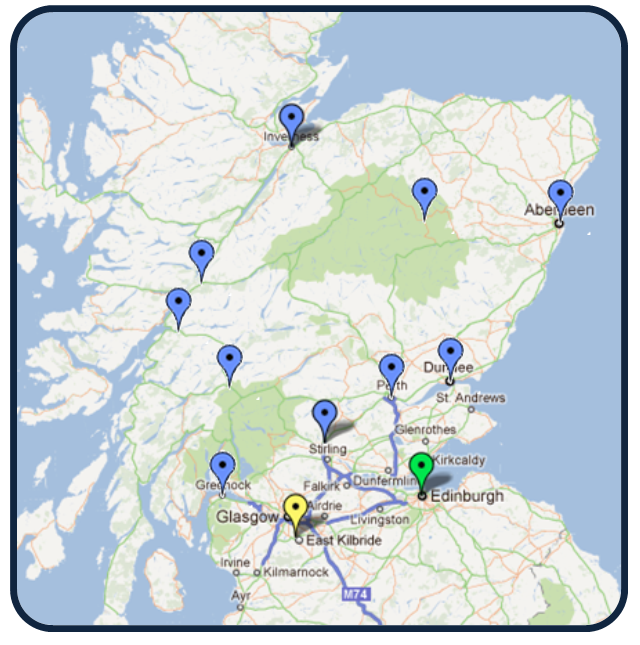 Scotland Installation Specialists - Call 0141 2783343